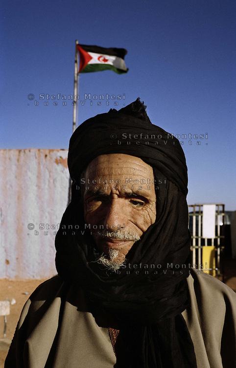 The Saharawi refugee camp  ...Rabuni..Hospital - injured school of War Chraid Cherif..January 2008......................