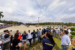 Übersicht Springplatz<br /> Luhmühlen - LONGINES FEI Eventing European Championships 2019<br /> Impressionen am Rande<br /> Finales Springen<br /> Show Jumping<br /> 01. September 2019<br /> © www.sportfotos-lafrentz.de/Stefan Lafrentz