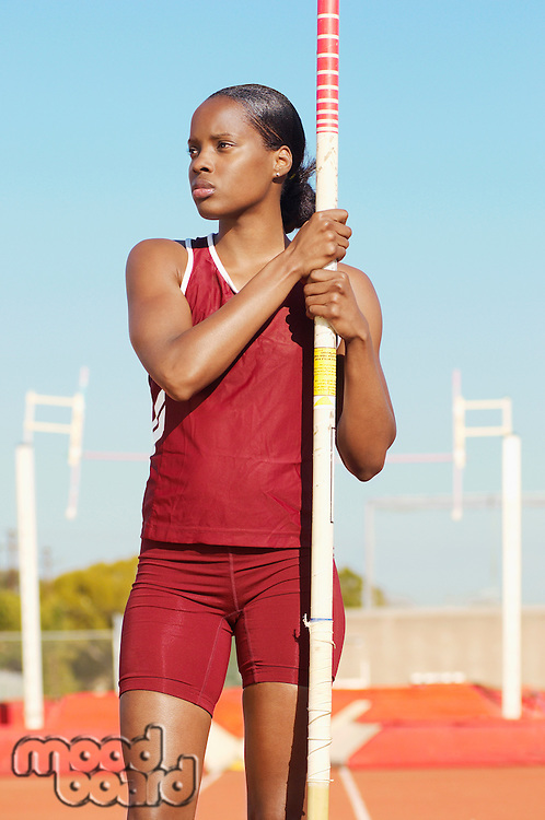 Pole Vault Competitor