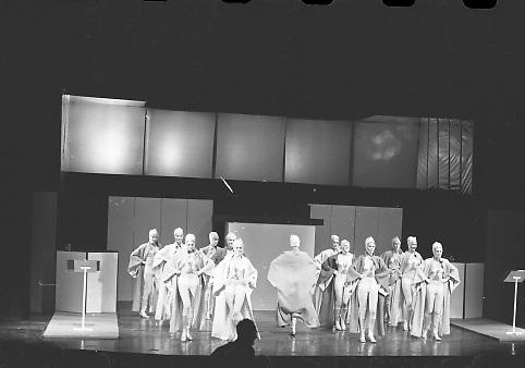 Abbey Theatre Fashion Show.22/03/1970