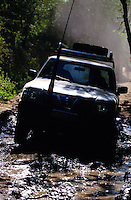 BADAKHSHAN, 28 July 2005..UNFPA vehicle on the road