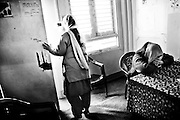 MSF is present in Indian-administered Kashmir. MSF provides basic health care and psychosocial counselling to a population traumatized by over 20 years of violence in the Kashmir Valley. Step by step, MSF has succeeded in creating more awareness about psychosocial problems among the population. In 2008, MSF's mental health program treated 6,324 patients. MSF supports 6 clinics in Kupwara district with basic health care and vaccination services and conducted over 10,000 consultations in 2008..Local population attending Psycho-education in tyan Clinic, Kupwara district..