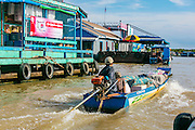 Floating fishing village, Tonle Sap Lake, Cambodia, asia, fisherman