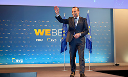 24.05.2019, Kongress Zentrum, Muenchen, GER, Europawahl 2019, Schlusskundgebung der EVP, im Bild Manfred Weber // during the final EPP rally on the 2019 European elections at the Kongress Zentrum in Muenchen, Germany on 2019/05/24. EXPA Pictures © 2019, PhotoCredit: EXPA/ SM<br /> <br /> *****ATTENTION - OUT of GER*****