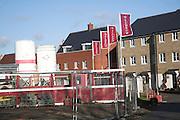 Building site new housing development, Colchester, Essex, England