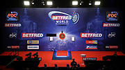 Stage during the World Matchplay Darts 2019 at Winter Gardens, Blackpool, United Kingdom on 23 July 2019.