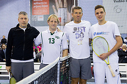 Bojan Pozar, Tomaz Vnuk, Srecko Katanec and Marino Kegl at Tennis exhibition day and Slovenian Tennis personality of the year 2013 annual awards presented by Slovene Tennis Association TZS, on December 21, 2013 in BTC City, TC Millenium, Ljubljana, Slovenia.  Photo by Vid Ponikvar / Sportida