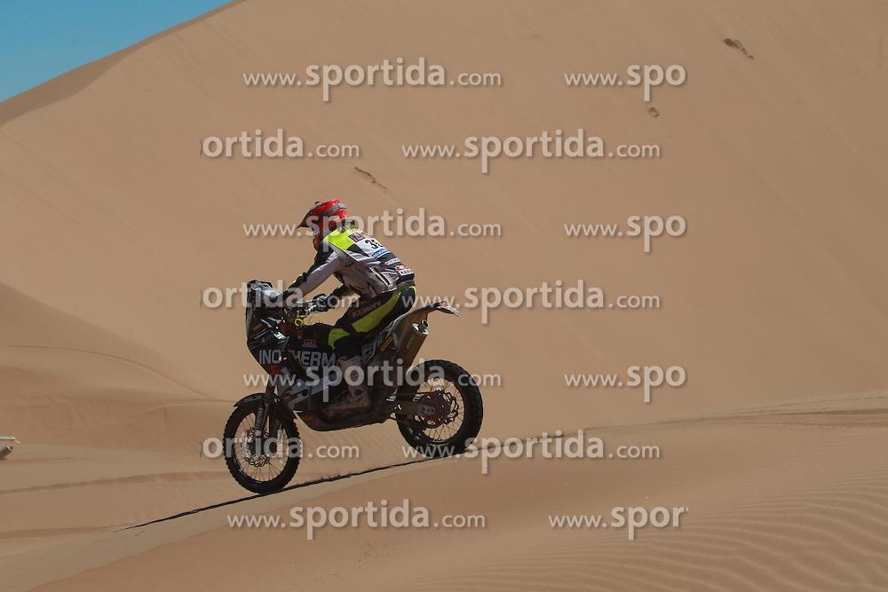 Miran Stanovnik (SLO) at Dakar on January 8, 2015, photo by Maindru