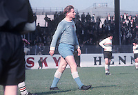 Dave Hickson, aka David Hickson, player-manager, Ballymena United, N Ireland. Born England, Played for several first division clubs. September 1967. 196709000129b<br /> <br /> Copyright Image from Victor Patterson, 54 Dorchester Park, Belfast, UK, BT9 6RJ<br /> <br /> t: +44 28 9066 1296<br /> m: +44 7802 353836<br /> vm +44 20 8816 7153<br /> <br /> e1: victorpatterson@me.com<br /> e2: victorpatterson@gmail.com<br /> <br /> www.victorpatterson.com<br /> <br /> IMPORTANT: Please see my Terms and Conditions of Use at www.victorpatterson.com