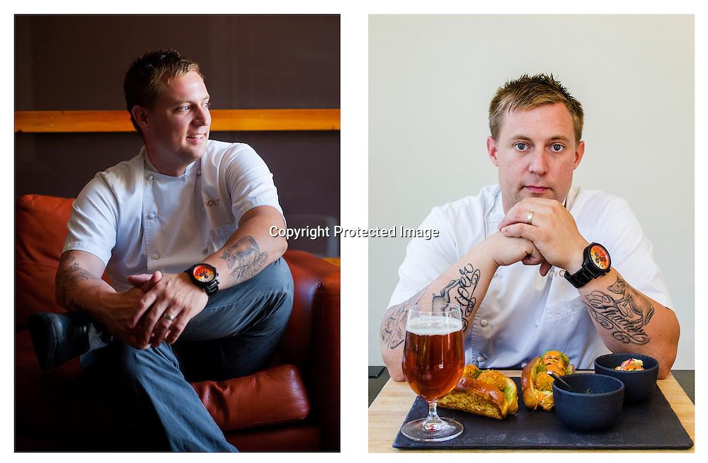 Chef Bryan Voltaggio, Frederick, Md., 2012,