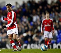Francis Coquelin of Arsenal Youth  Tottenham Hotspur Youth Vs  Arsenal Youth at White Hart Lane London F.A. Youth Cup Sixth Round<br /> 05/03/2009. Credit Colorsport  / Kieran Galvin