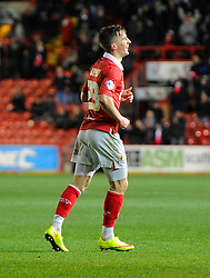 Bristol City's Joe Bryan celebrates his goal  - Photo mandatory by-line: Joe Meredith/JMP - Mobile: 07966 386802 - 10/02/2015 - SPORT - Football - Bristol - Ashton Gate - Bristol City v Port Vale - Sky Bet League One