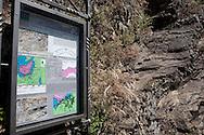 Sasso di Castalda (PZ), 19.07.2009, Italy - Sasso di Castalda è un paesino della provincia di Potenza che conta circa mille abitanti. E' paese natale dei genitori di Rocco Petrone, direttore del lancio Nasa che portò il primo uomo sulla luna nel 1969. Nella Foto: Scorci del paese con le conformazioni rocciose studiate anche da geologi e universitari..Photo by © Giovanni Marino/OTNPhotos - obligatory credit -