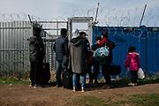 Kelebija, Serbia 2017. Refugee crisis at balkan route