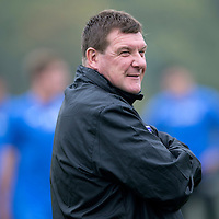 St Johnstone Training....12.09.14<br /> Manager Tommy Wright pictured in training this morning ahead of tomorrow's game at home to Dundee.<br /> Picture by Graeme Hart.<br /> Copyright Perthshire Picture Agency<br /> Tel: 01738 623350  Mobile: 07990 594431