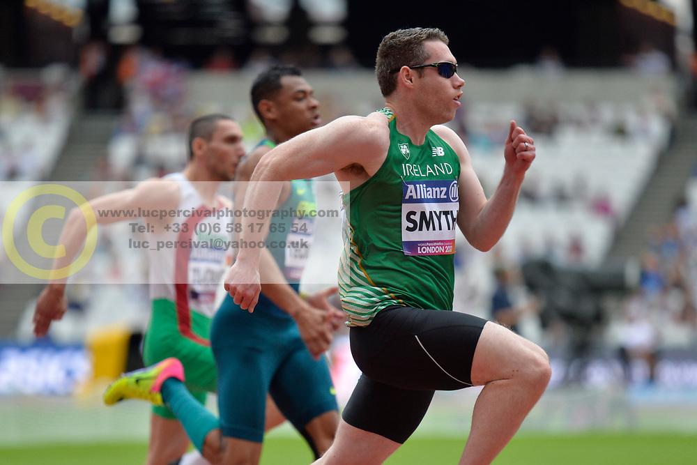 16/07/2017 : Jason SMYTH, T13, 100m (men's), at the 2017 World Para Athletics Championships, Olympic Stadium, London, United Kingdom