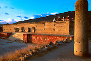 MEXICO, ZAPOTEC  and amp; MIXTEC Mitla; famous Hall of the Columns