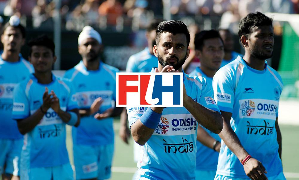 BREDA - Rabobank Hockey Champions Trophy<br /> Final Australia - India<br /> Photo: Manpreet Singh.<br /> COPYRIGHT WORLDSPORTPICS FRANK UIJLENBROEK