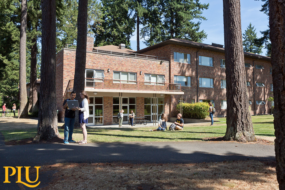 recreating old photos at PLU on Tuesday, July 28, 2015. (Photo: John Froschauer/PLU)
