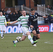 Dundee's Luka Tankulic beats Celtic&rsquo;s Scott Brown - Dundee v Celtic, William Hill Scottish Cup fifth round at Dens Park <br /> <br /> <br />  - &copy; David Young - www.davidyoungphoto.co.uk - email: davidyoungphoto@gmail.com