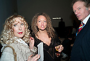 BASIA BRIGGS; STEPHANIE THEOBALDS; RICHARD BRIGGS, Launch party for Above magazine. Serpentine Gallery. London. 11 December 2009