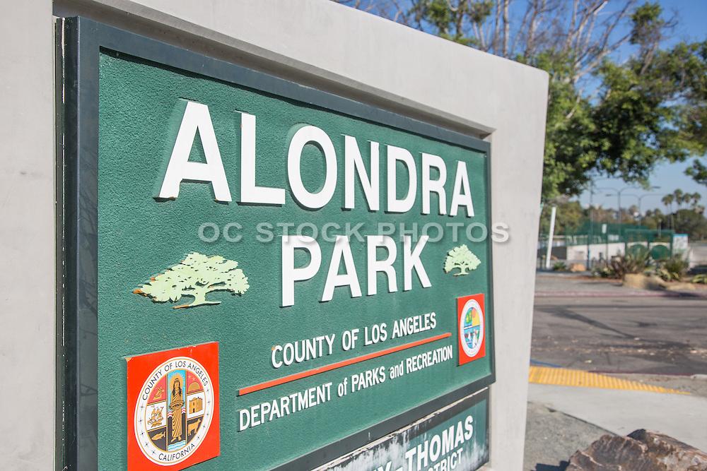 Alondra Park Monument