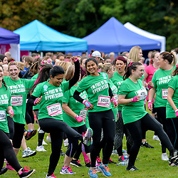 Charity 'Race for Life' 5k muddy obstacle race, Glasgow, 9 September 2018