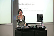 Carolyn McCall, Arts Alliance CEOs Summit. Tanaka Business School. Imperial College, London. 17 April 2007.  -DO NOT ARCHIVE-© Copyright Photograph by Dafydd Jones. 248 Clapham Rd. London SW9 0PZ. Tel 0207 820 0771. www.dafjones.com.
