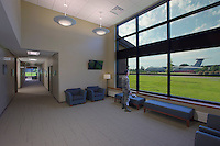Interior Image of the Warfighter and Family Support Center at McGuire AFB in New Jersey by Jeffrey Sauers of Commercial Photographics