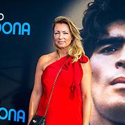 NLD/Amsterdam/20190804 -  Première Diego Maradona inloop, Renate Verhoofstad