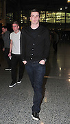 25.FEBRUARY.2011. MANCHESTER<br /> <br /> MANCHESTER CITY FOOTBALLER ADAM JOHNSON ARRIVING AT THE MEN ARENA IN MANCHESTER TO WATCH NE-YO PERFORM IN CONCERT.<br /> <br /> BYLINE: EDBIMAGEARCHIVE.COM<br /> <br /> *THIS IMAGE IS STRICTLY FOR UK NEWSPAPERS AND MAGAZINES ONLY*<br /> *FOR WORLD WIDE SALES AND WEB USE PLEASE CONTACT EDBIMAGEARCHIVE - 0208 954 5968*