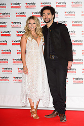© Licensed to London News Pictures. 18/10/2016. CRISSIE RHODES and BEN EARLE of British music group THE SHIRES attend the Variety Showbiz Awards at the Hilton Park Lane Hotel. London, UK. Photo credit: Ray Tang/LNP