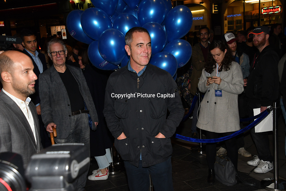 James Nesbitt attend the Company - Opening Night at Gielgud Theatre, London, UK. 17 October 2018.