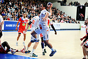 DESCRIZIONE : France Hand D1 Championnat de France D1 A Paris <br /> GIOCATORE : TEJ ISSA <br /> SQUADRA : Montpellier<br /> EVENTO : FRANCE Hand D1<br /> GARA : Paris Montpellier<br /> DATA : 16/11/2011<br /> CATEGORIA : Hand D1 <br /> SPORT : Handball<br /> AUTORE : JF Molliere <br /> Galleria : France Hand 2011-2012 Action<br /> Fotonotizia : France Hand D1 Championnat de France D1 a Paris <br /> Predefinita :