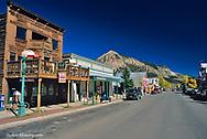 The town of Creste Butte Colorado