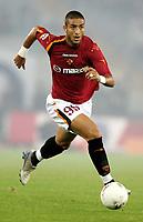 Foto Omega/Baroncini<br /> Roma 22-09-2004<br /> Campionato di calcio di serie A Stagione 2004-2005<br /> Roma-Lecce<br /> Mido