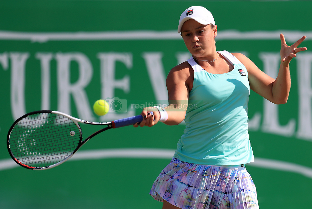 Australia's Ashleigh Barty during day four of the Nature Valley Open at Nottingham Tennis Centre.