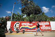 The Fabricio Ojeda Nucleus of Endogenous Development. The nucleus includes health clinics, subsidised food stores and development programmes. Caracas, Oct. 18, 2008 (Photo/Ivan Gonzalez)
