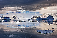 South Orkney Islands, Antarctica. Digitally Manipulated Image. Stylised by sharpening and enhancing color.