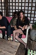 ELLIOT DODD; ANOUSKHA BECKWITH, InStyle's Best Of British Talent Party in association with Lancome. Shoreditch HouseLondon. 25 January 2011, -DO NOT ARCHIVE-© Copyright Photograph by Dafydd Jones. 248 Clapham Rd. London SW9 0PZ. Tel 0207 820 0771. www.dafjones.com.