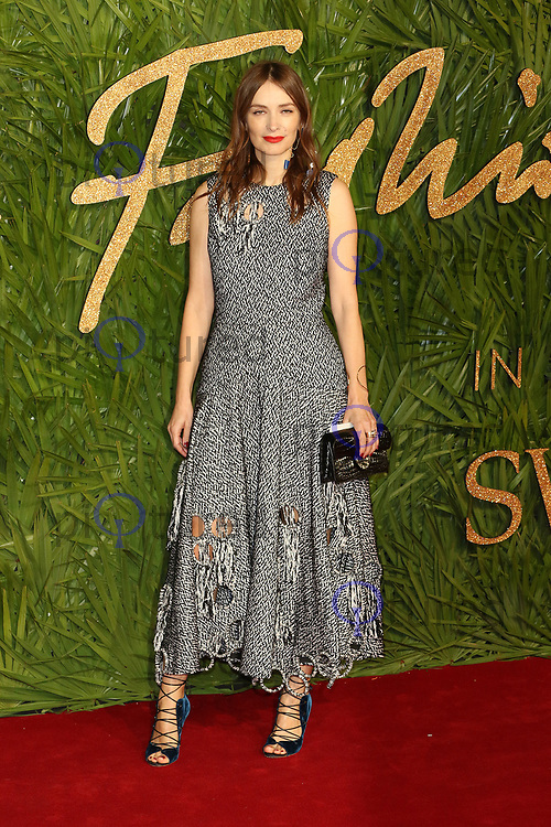 Roksanda Ilincic, The Fashion Awards 2017, The Royal Albert Hall, London UK, 04 December 2017, Photo by Richard Goldschmidt