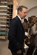 TOM DIXON, Stefania Pramma launched her handbag brand PRAMMA  at the Kensington residence of her twin sister, art collector Valeria Napoleone.. London.  29 April 2015