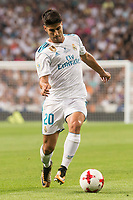 Real Madrid's Marco Asensio during Supercup of Spain 2nd match at Santiago Bernabeu Stadium in Madrid, Spain August 16, 2017. (ALTERPHOTOS/Borja B.Hojas)