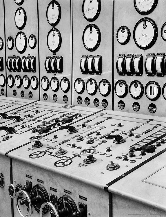Control Panels, Klingenberg Power Station, Berlin, 1928