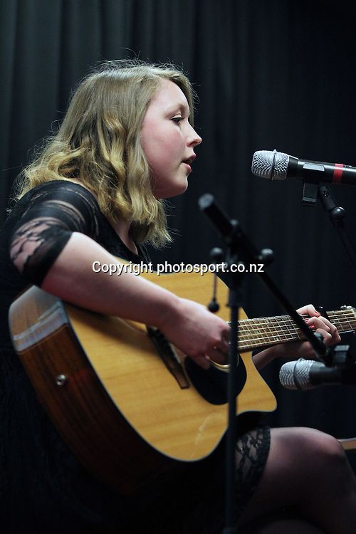 Paige performs at the 2012 New Zealand Rugby League Awards at Westpac House, Britomart, Auckland Wednesday, November 7