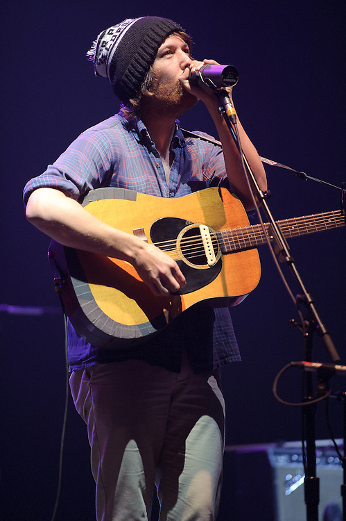 Photos of Portland-based folk band Fleet Foxes performing at United Palace Theatre, NYC. May 18, 2011. Copyright © 2011 Matthew Eisman. All Rights Reserved.