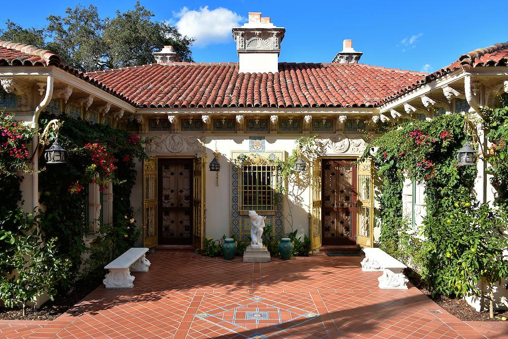 Casa Del Monte At Hearst Castle In San Simeon California