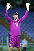 Fraser Forster of Celtic during the UEFA Europa League, Group E football match between SS Lazio and Celtic FC on November 7, 2019 at Stadio Olimpico in Rome, Italy - Photo Federico Proietti / ProSportsImages / DPPI