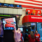 Manchester United IPO on The New York Stock Exchange.