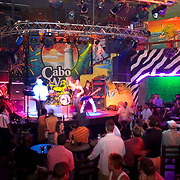 Interior of Cabo Wabo bar. Cabo San Lucas, BCS,